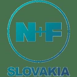 N+F Slovakia logo